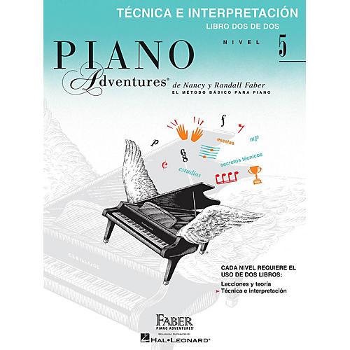 Faber Piano Adventures Téchnica e Interpretación, Nivel 5 Faber Piano Adventures® Series Softcover Written by Randall Faber-thumbnail