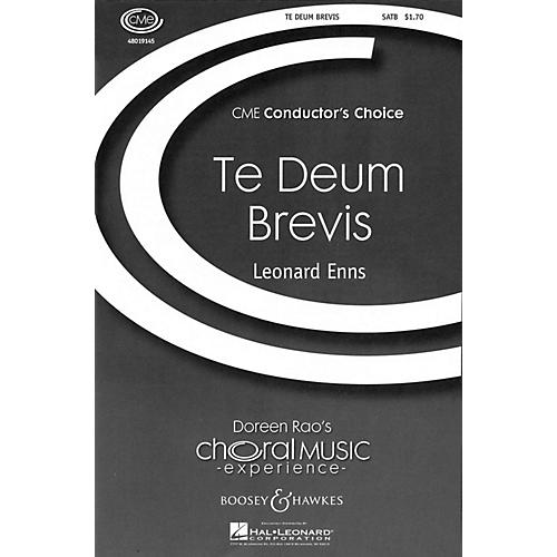 Boosey and Hawkes Te Deum Brevis (CME Conductor's Choice) SATB composed by Leonard Enns-thumbnail