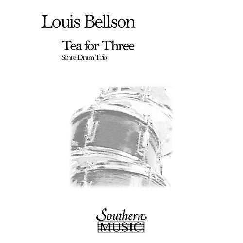 Hal Leonard Tea For Three (3) (Percussion Music/Snare Drum Ensemble) Southern Music Series Composed by Bellson, Louie-thumbnail