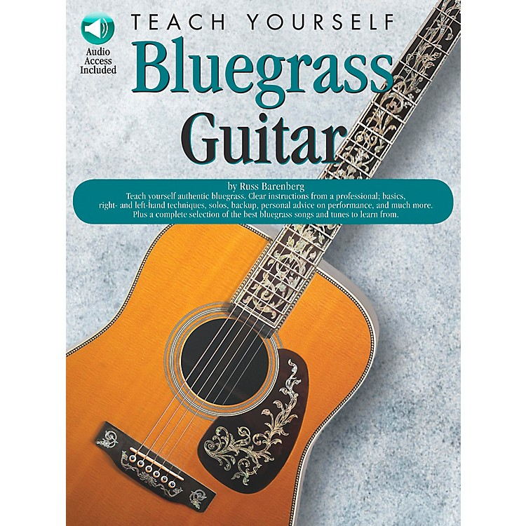 Music SalesTeach Yourself Bluegrass Guitar (Book/CD)