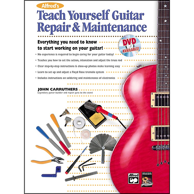 AlfredTeach Yourself Guitar Repair and Maintenance Book