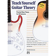 Alfred Teach Yourself Guitar Theory Book