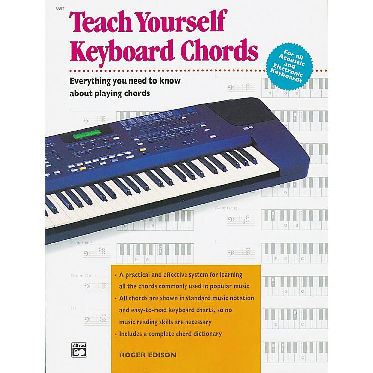 AlfredTeach Yourself Keyboard Chords Book