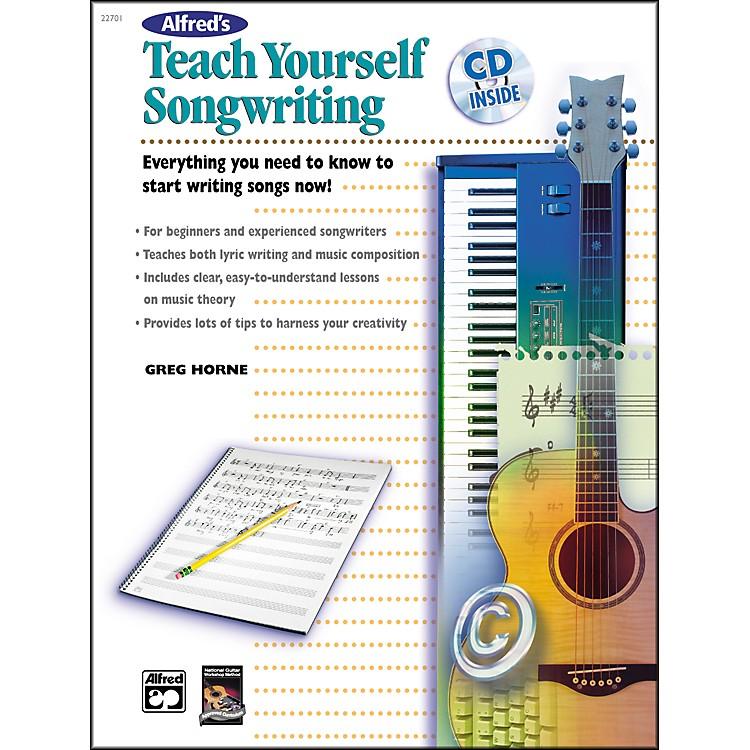 AlfredTeach Yourself Songwriting (Book/CD)