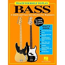 Hal Leonard Teach Yourself To Play Bass - A Quick & Easy Introduction For Beginners