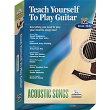 Alfred Teach Yourself To Play Guitar: Acoustic Songs (CD-ROM)