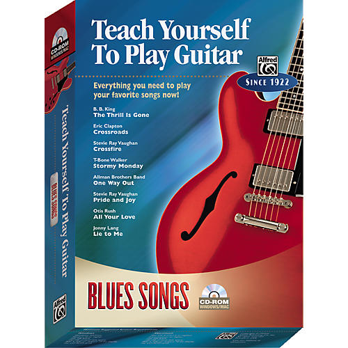 Alfred Teach Yourself To Play Guitar: Blues Songs (CD-ROM)