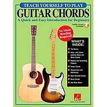 Hal Leonard Teach Yourself To Play Guitar Chords (Book/Online Audio)