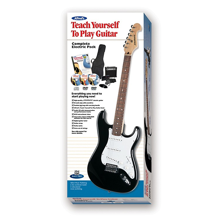 Alfred Teach Yourself to Electric Guitar Complete Starter Pack Pack