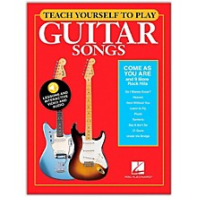 """Hal Leonard Teach Yourself to Play """"Come As You Are"""" & 9 More Rock Hits for Guitar"""