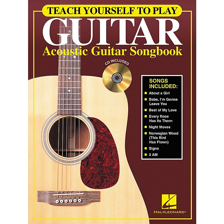 Hal Leonard Teach Yourself to Play Guitar - Acoustic Guitar (Songbook/CD)