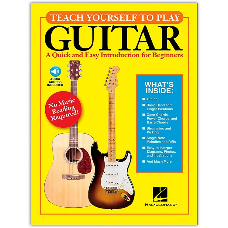 Hal Leonard Teach Yourself to Play Guitar Book/CD