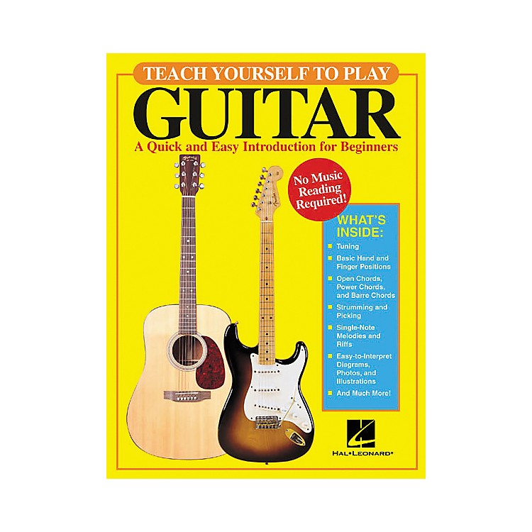 Hal Leonard Teach Yourself to Play Guitar Book