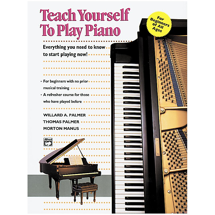 AlfredTeach Yourself to Play Piano Book