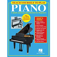 Hal Leonard Teach Yourself to Play Piano Book