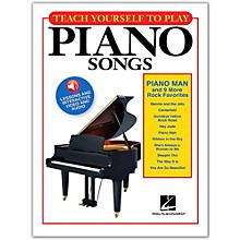 "Hal Leonard Teach Yourself to Play ""Piano Man"" & 9 More Rock Favorites on Piano Book/Video/Audio"