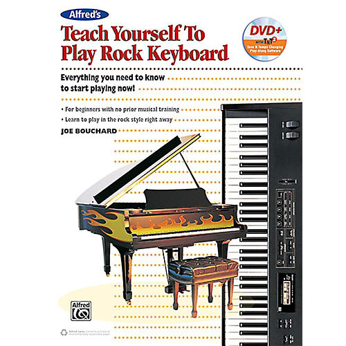 Alfred Teach Yourself to Play Rock Keyboard Book & DVD-thumbnail