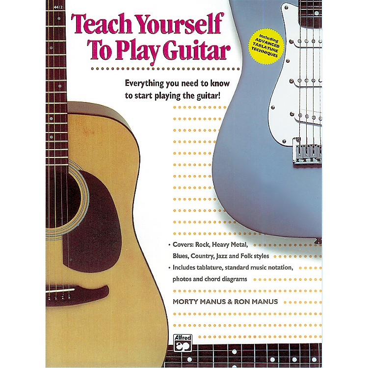 Alfred Teach Yourself to Play the Guitar Book/CD