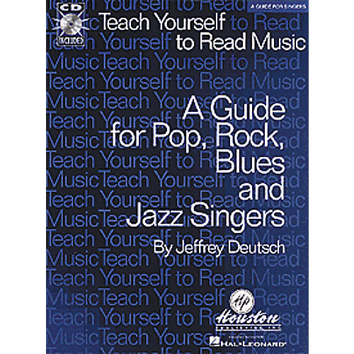 Hal Leonard Teach Yourself to Read Music CD - A Guide for Pop, Rock, Blues and Jazz Singers