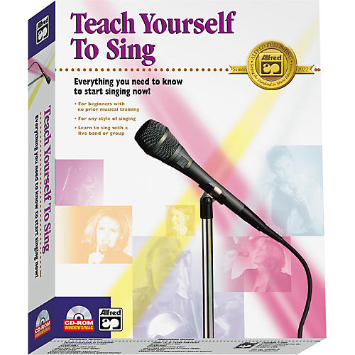 Alfred Teach Yourself to Sing CD-ROM-thumbnail