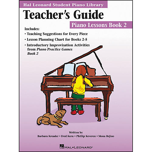 Hal Leonard Teacher's Guide - Piano Lessons Book 2 Hal Leonard Student Piano Library-thumbnail