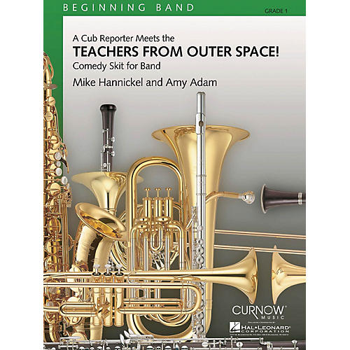Curnow Music Teachers from Outer Space! (Grade 1 - Score and Parts) Concert Band Level 1 Composed by Mike Hannickel-thumbnail