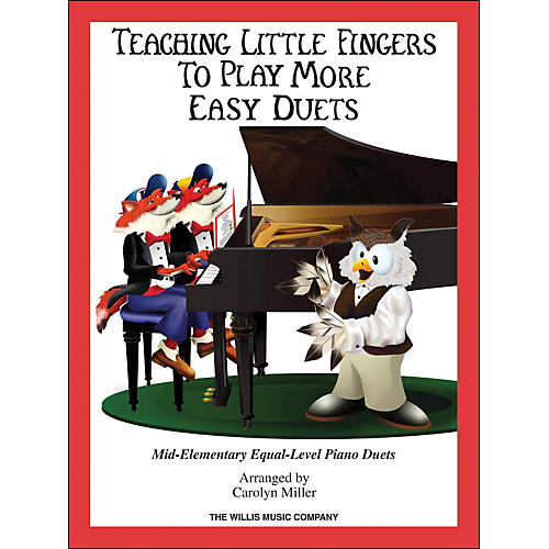 Hal Leonard Teaching Little Fingers To Play - More Easy Duets Book Only 1 Piano 4 Hands