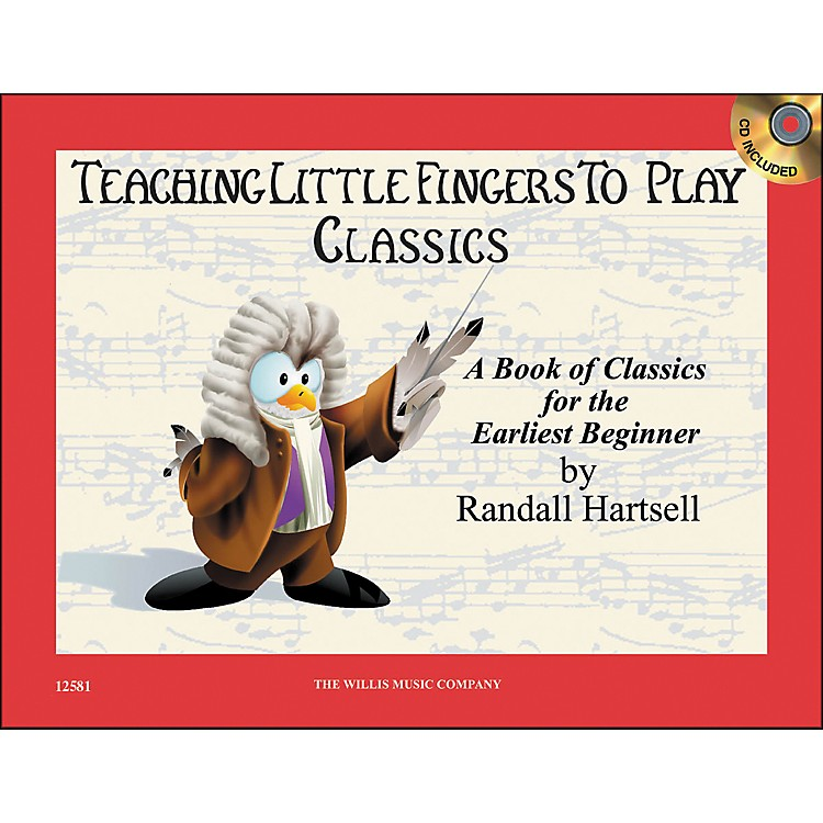 Willis Music Teaching Little Fingers To Play Classics Book/CD