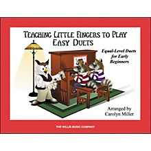 Willis Music Teaching Little Fingers To Play Easy Duets (Book Only) 1 Piano 4 Hands