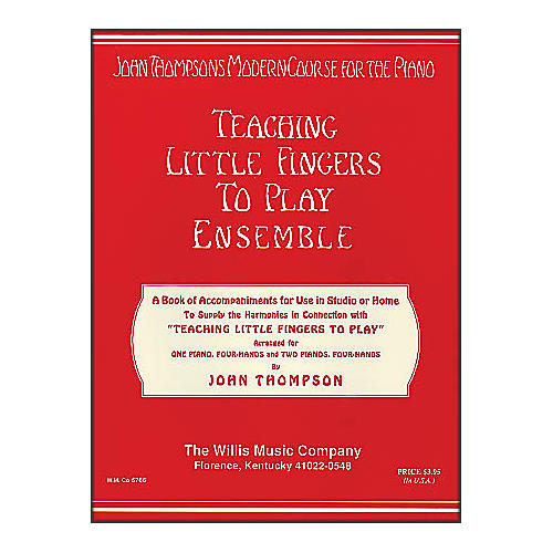 Willis Music Teaching Little Fingers To Play Ensemble - 1 And 2 Pianos, 4 Hands