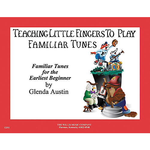Willis Music Teaching Little Fingers To Play Familiar Tunes for Piano