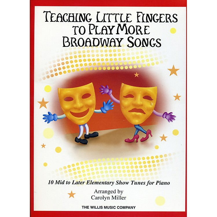 Hal LeonardTeaching Little Fingers To Play More Broadway Songs