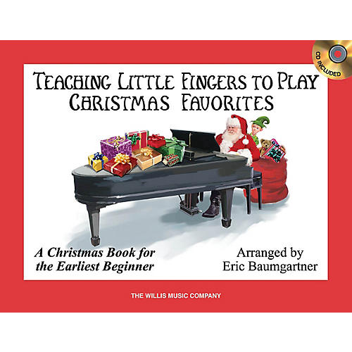 Willis Music Teaching Little Fingers to Play Christmas Favorites Willis Series Book with CD (Level Early Elem)-thumbnail