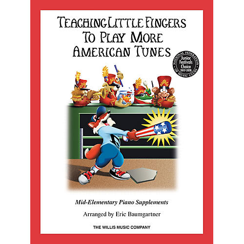 Willis Music Teaching Little Fingers to Play More American Tunes - Book only (Mid-Elem Level) Willis Series-thumbnail