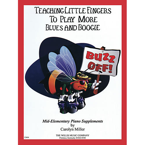 Willis Music Teaching Little Fingers to Play More Blues and Boogie - Willis Book by Carolyn Miller (Level Mid-Elem)-thumbnail