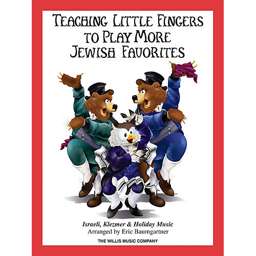 Willis Music Teaching Little Fingers to Play More Jewish Favorites Willis Series Softcover-thumbnail