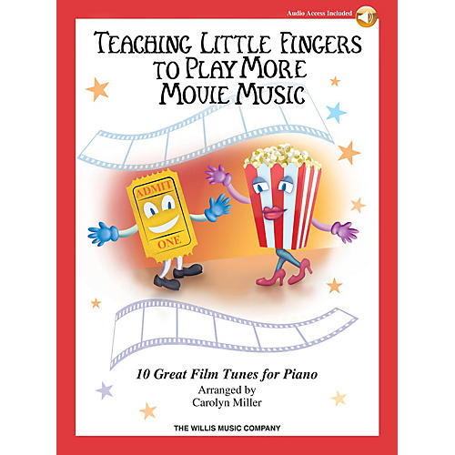 Willis Music Teaching Little Fingers to Play More Movie Music Willis Series Book Audio Online (Level Late Elem)-thumbnail