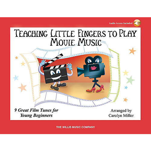 Willis Music Teaching Little Fingers to Play Movie Music Willis Series Book Audio Online (Level Early to Mid-Elem)-thumbnail