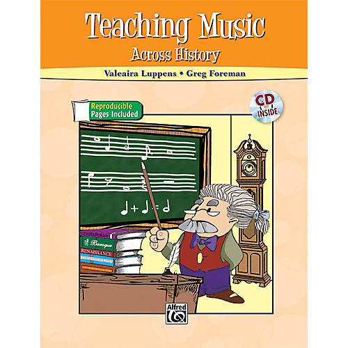 Alfred Teaching Music Across History Book & CD