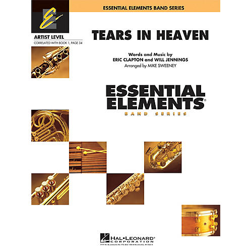 Hal Leonard Tears in Heaven Concert Band Level 1 by Eric Clapton Arranged by Michael Sweeney-thumbnail