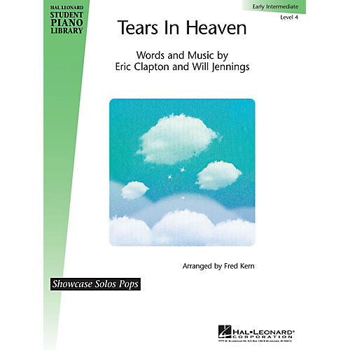 Hal Leonard Tears in Heaven Piano Library Series Performed by Eric Clapton (Level Early Inter)-thumbnail