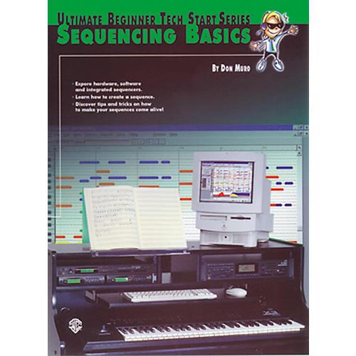 Alfred Tech-Start Sequencing Basics Book-thumbnail