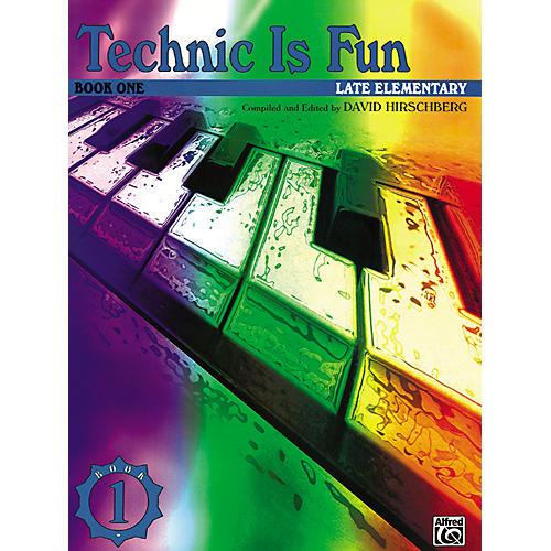 Alfred Technique Is Fun Book 1-thumbnail
