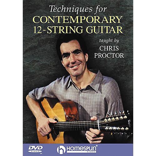Homespun Techniques for Contemporary 12-String Guitar (DVD)