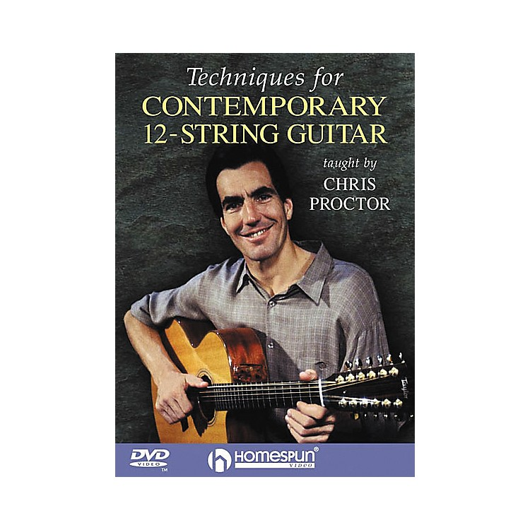 Homespun Techniques for Contemporary 12-String Guitar (DVD)
