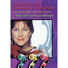 Huisku Music Techniques for the Contemporary String Player DVD Series DVD Written by Julie Lyonn Lieberman