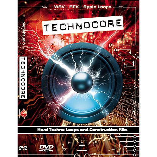 Big Fish Technocore Sample Library DVD