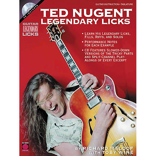 Cherry Lane Ted Nugent - Legendary Licks (Book/CD)