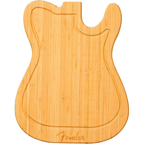 Fender Telecaster Bamboo Cutting Board-thumbnail