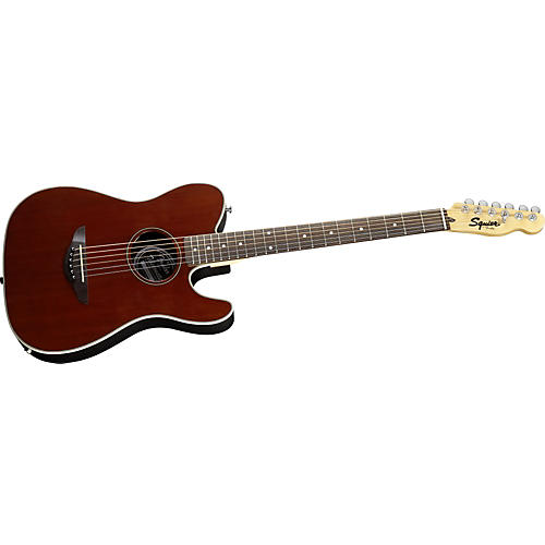 Squier Telecoustic Acoustic-Electric Guitar-thumbnail